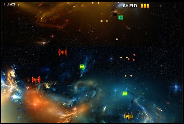 screenshot of early alpha